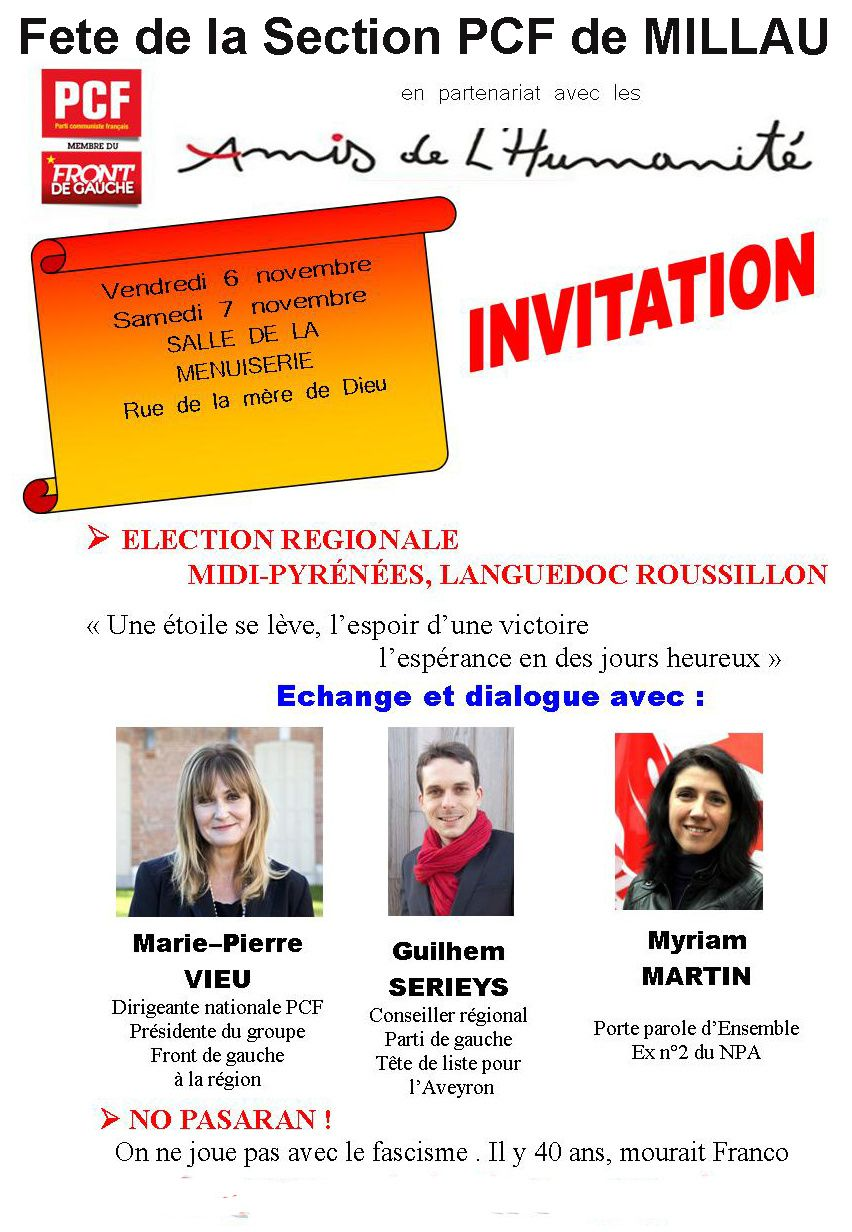 Rencontre pg pcf