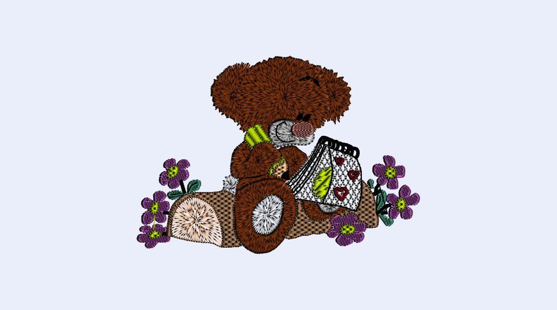 Un petit ours amoureux