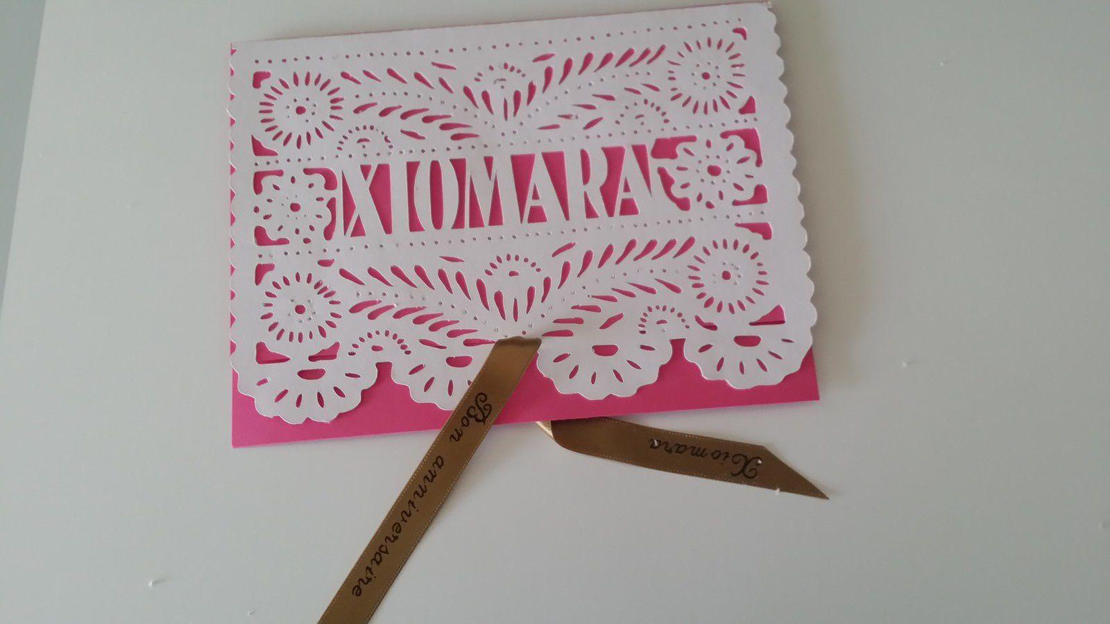Pour un anniversaire, cartes mexicaines