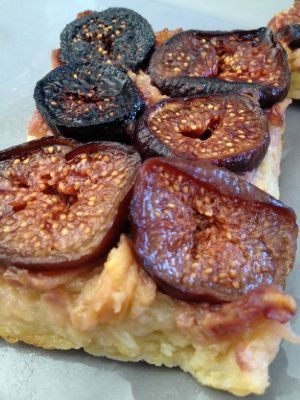 Tarte pommes figues fraiches ... 2 pp