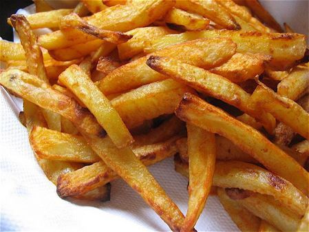 Frites au four weight watchers
