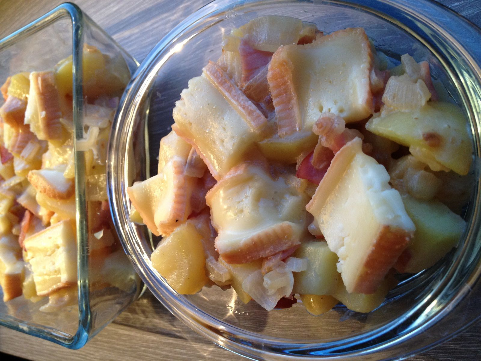 Tartiflette au maroilles Weight Watchers