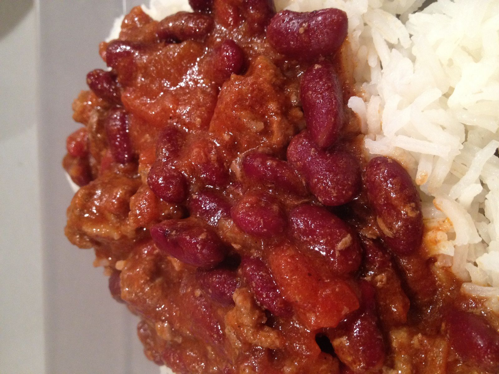 Chili con carne léger