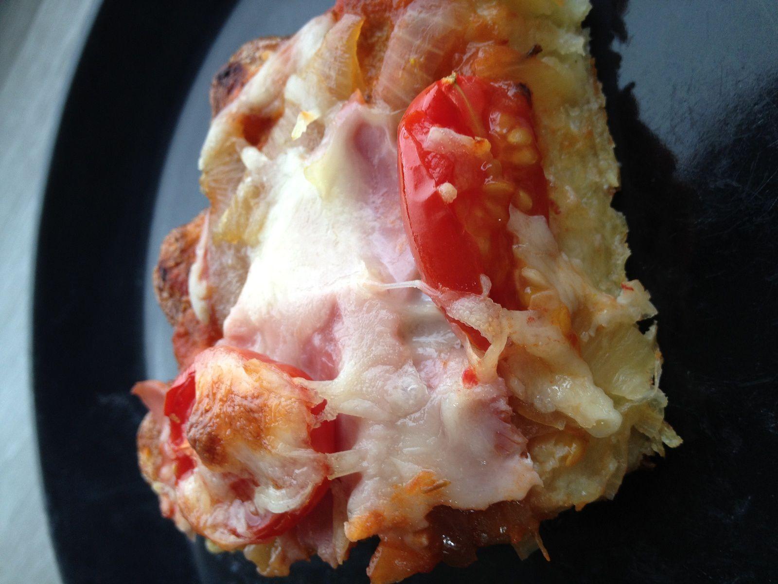 Galette de pomme de terre façon pizza