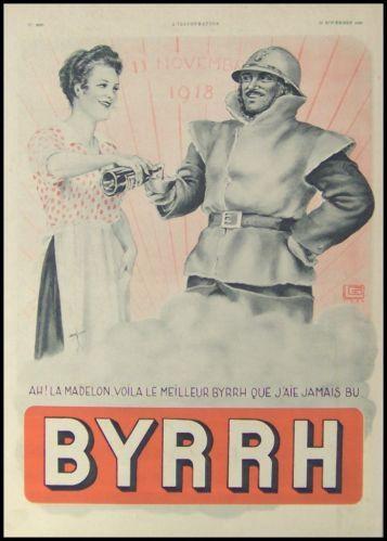 Affiche pour l'apéritif Byrrh