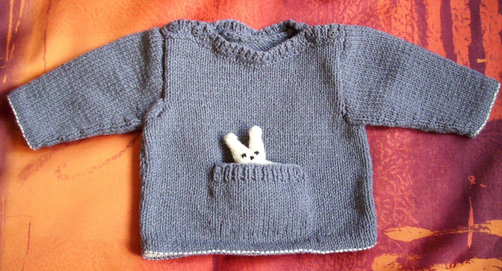Un petit lapin en poche pour Guillaume