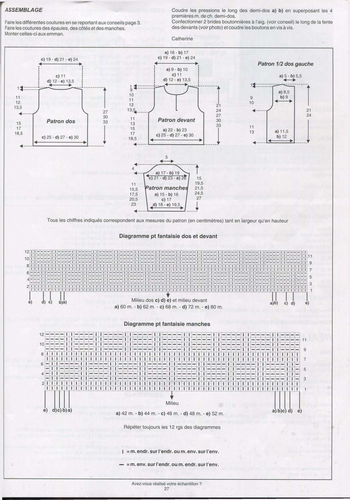 Modèle Phildar 196-T13-118