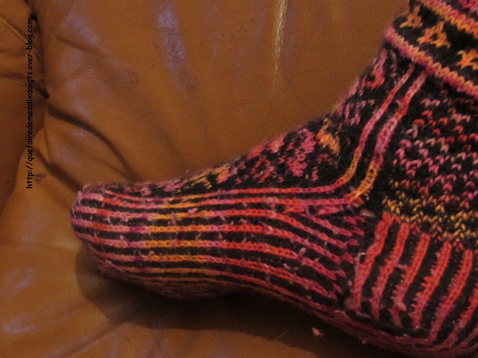 Et mes chaussettes...