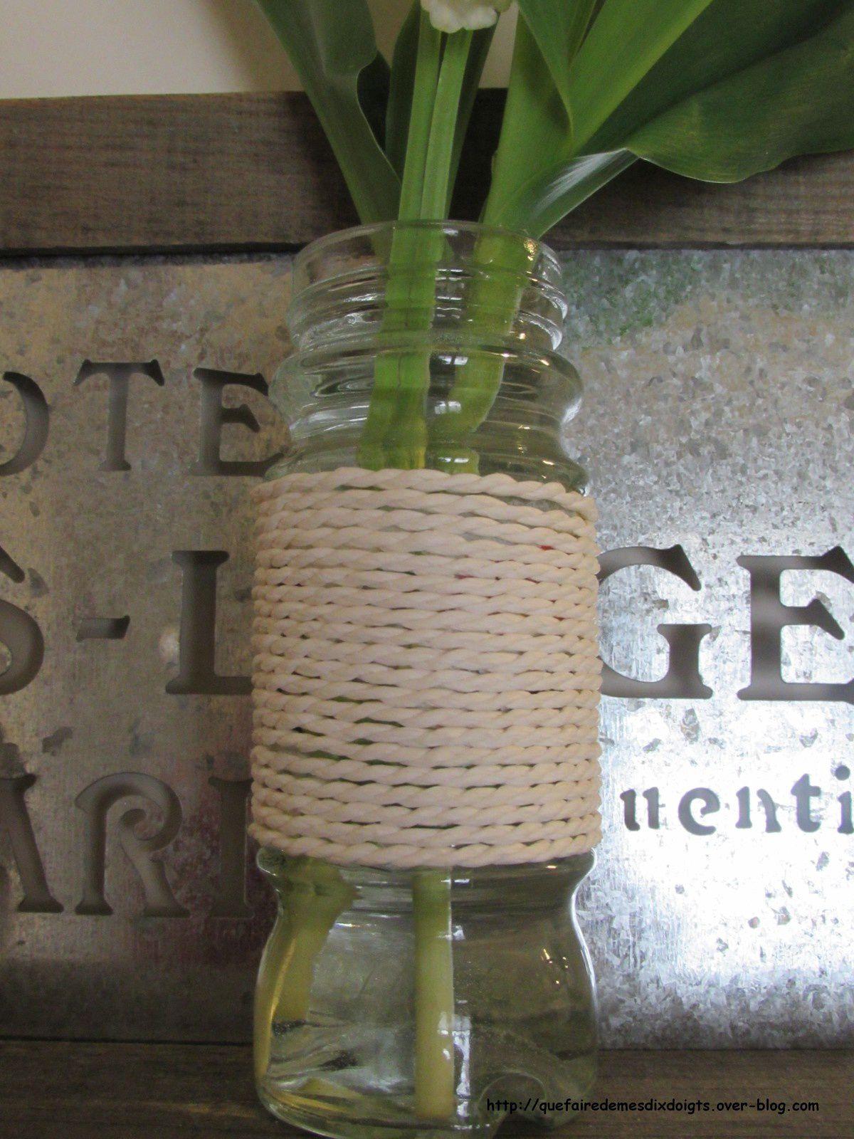 Un petit vase DIY vite fait pour le 1er mai