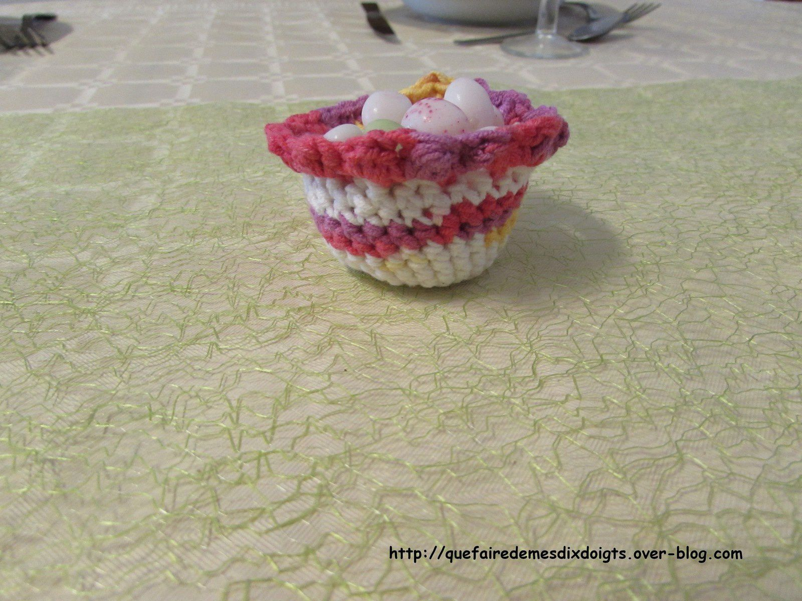 Un nouvel amigurumi pour Pâques