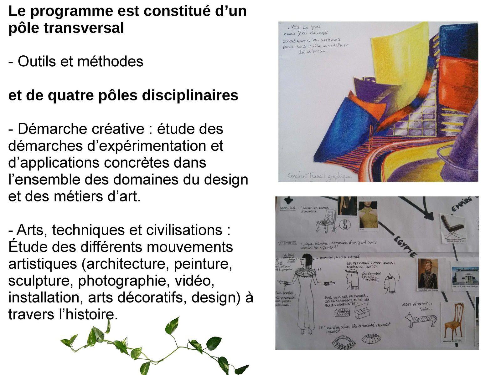 ouverture de la seconde d'exploration &quot&#x3B;création &amp&#x3B; culture design&quot&#x3B; au lycée Jean Lurçat de Perpignan