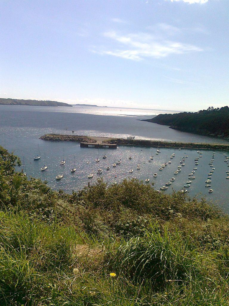 Milieu d'été, passé le 15 août - Lenaig, Coucou du haïku