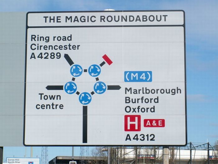 IKONAL BLOG : THE MAGIC ROUNDABOUT ( LE ROND-POINT MAGIQUE, MAIS AUSSI LE MANEGE ENCHANTE !) - http://ikonal.com/rond-point-magique-magic-roundabout