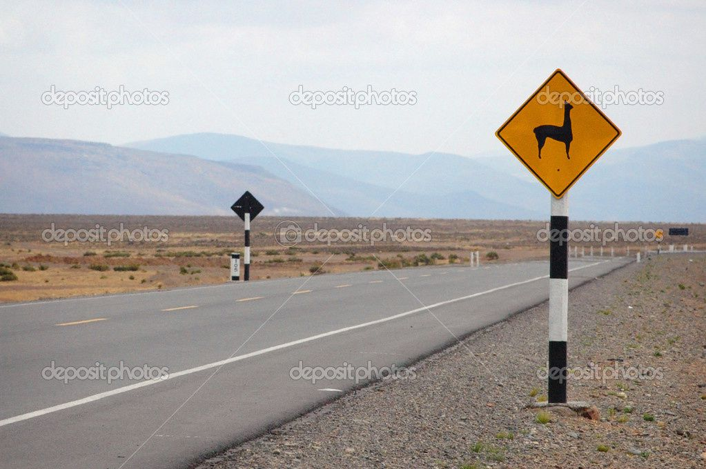 http://fr.depositphotos.com/48978611/stock-photo-llama-road-sign-in-peru.html