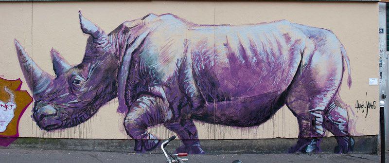 Le tableau du samedi : un rhinocéros à Paris, et ailleurs ... - Lenaïg