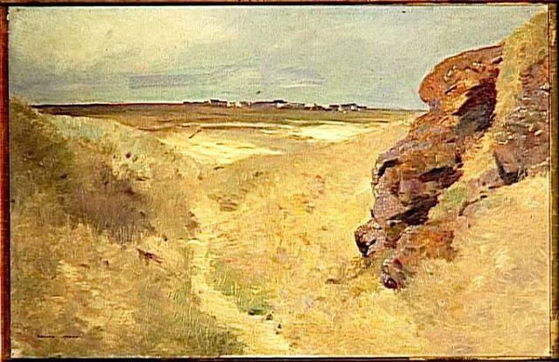 Sur le sable en pensant à Mona, les haïkus de Lenaïg et aussi le Tableau du samedi chez Lady