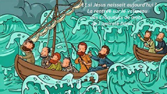 Défi n° 190 des Crôqueurs de mots: Jésus est rené (mais non il s'appelle toujours Jésus, pas René !) - Lenaïg