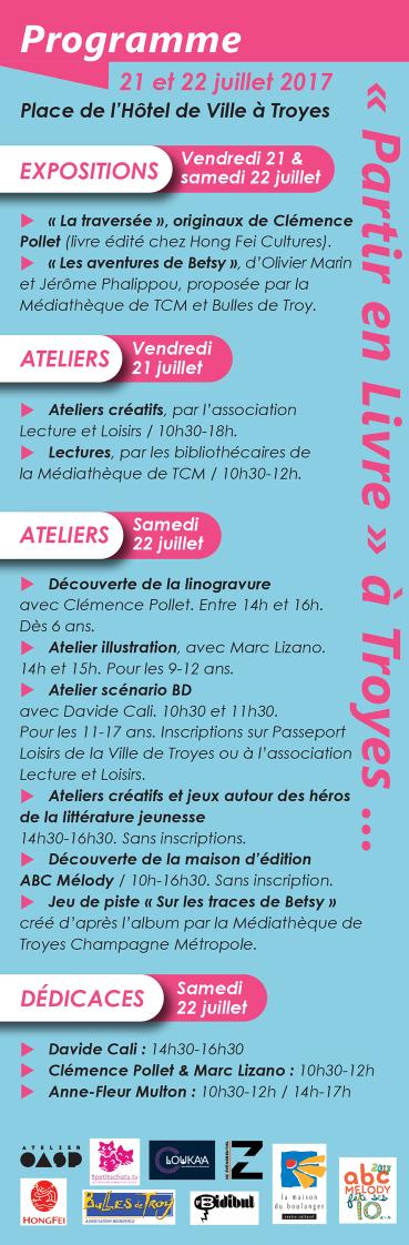 &quot&#x3B;Partir en livre&quot&#x3B; sur Troyes