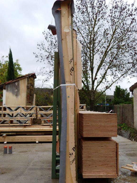 Livraison des ossatures bois