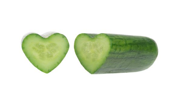 25. Cucumbers won't give it up for Lent.