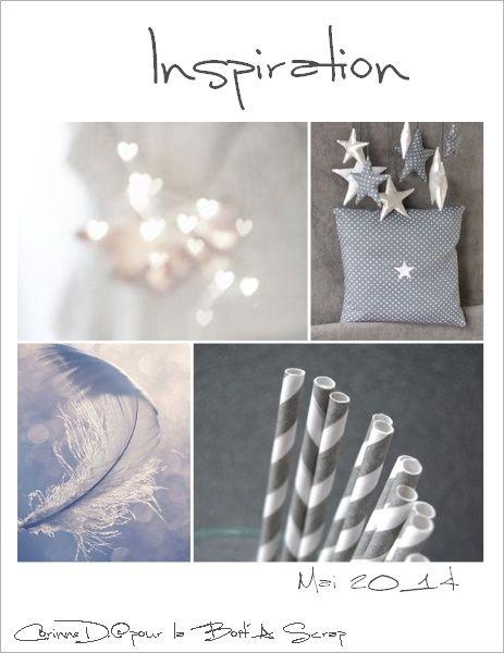 J'ai pratiquemment tout repris : les couleurs, les coeurs, les plumes, les étoiles...