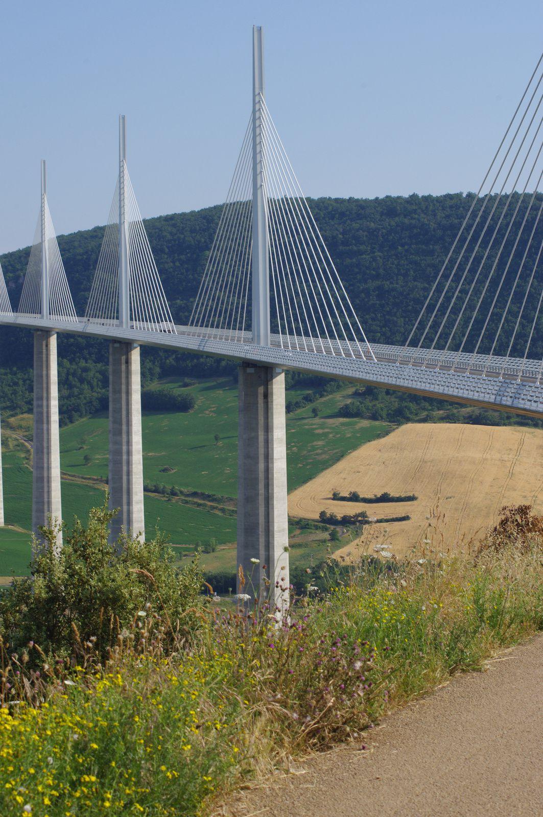 Réponses : Le mythique pont de San Francisco, le très joli pont Charilaos Trikoupis en Grèce, le non moins célèbre pont de Normandie, et le superbe viaduc de Millau.