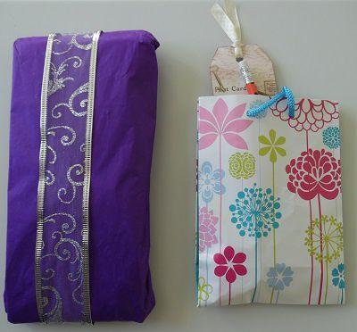 Merci beaucoup Lauriane pour ta jolie P.L. et les petits cadeaux...