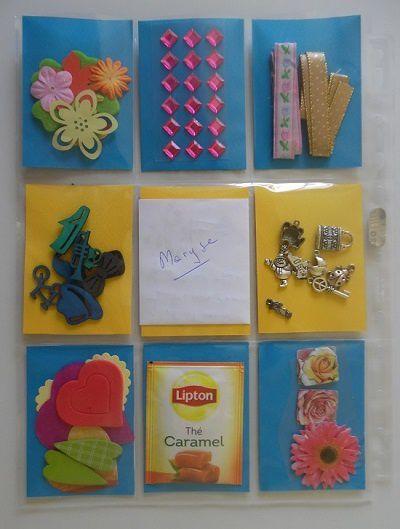 3ème échange de Pocket Letter de l'été