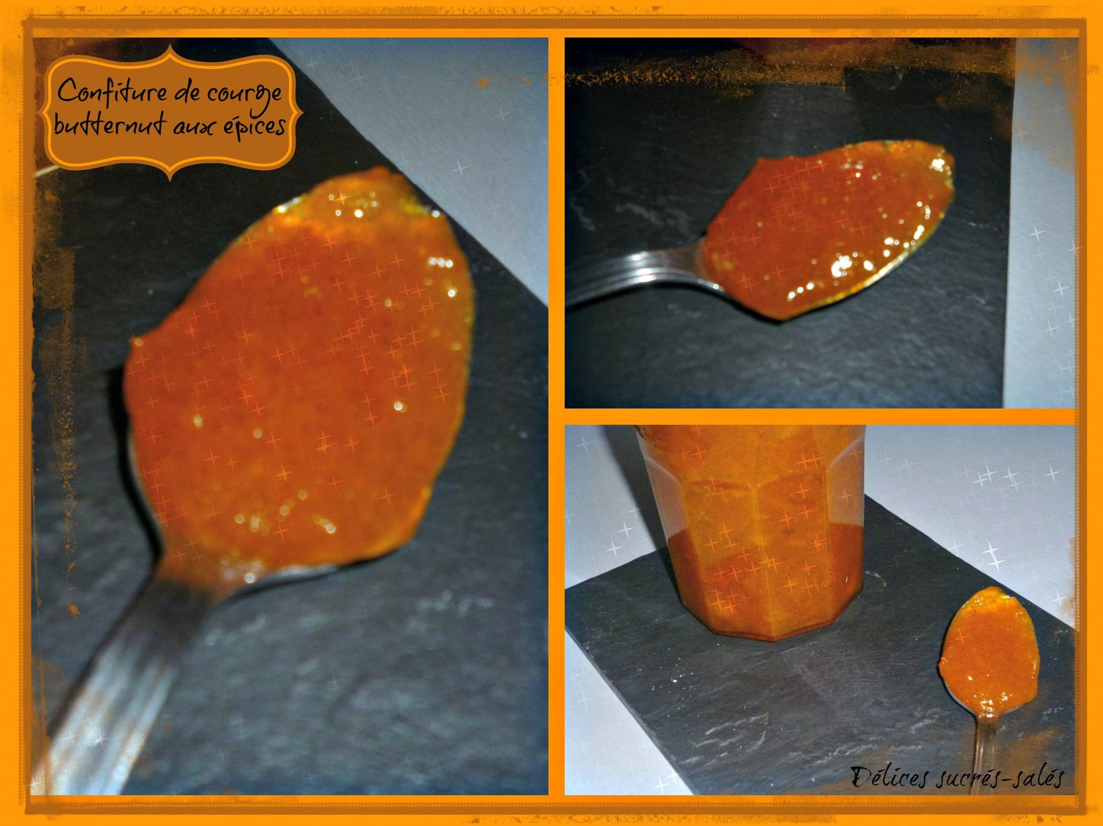 confiture butternut