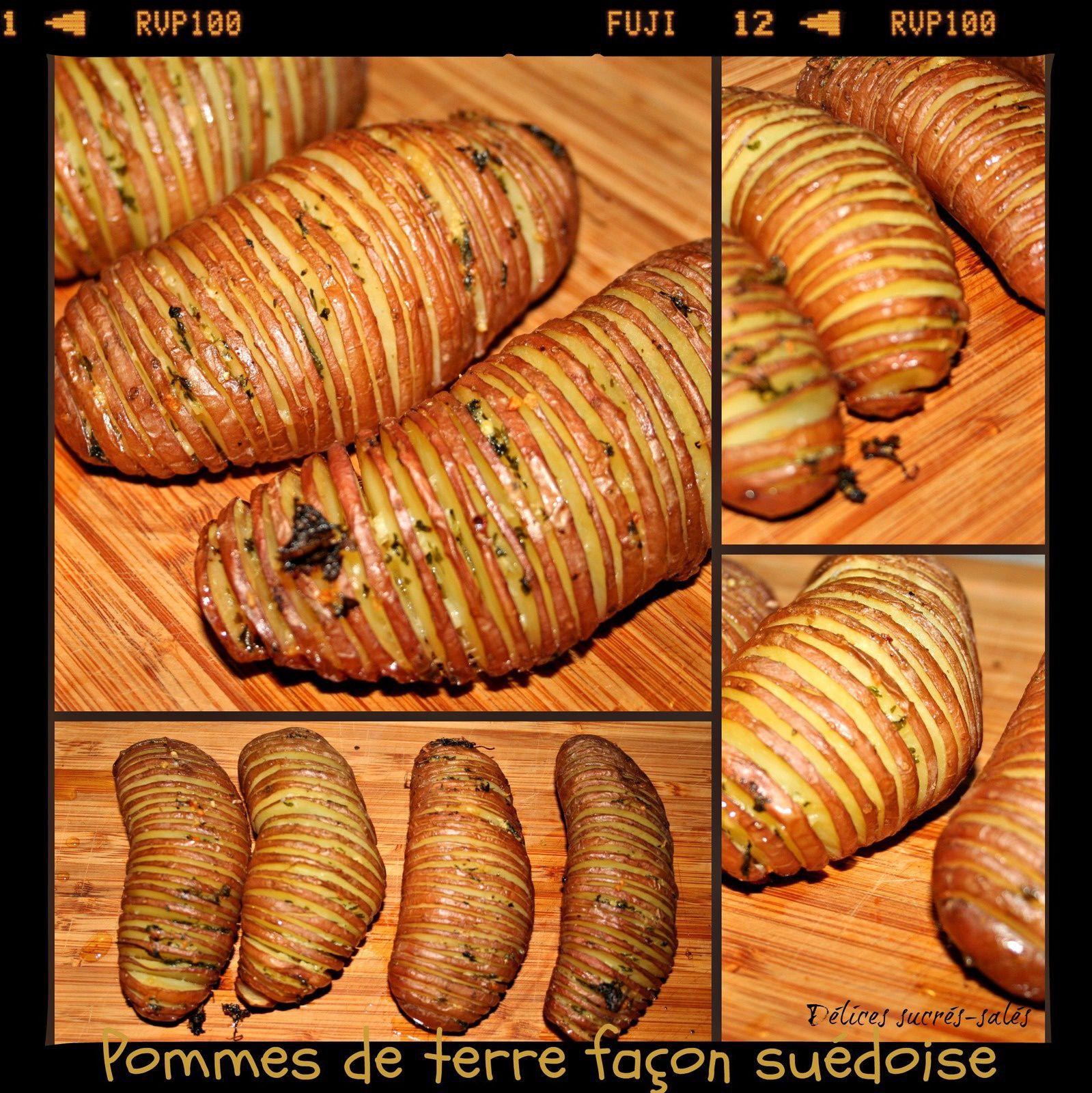 Pommes de terre façon suédoise