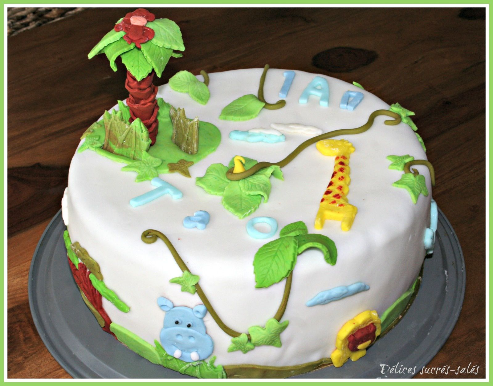Préférence Gateau jungle - delices-sucres-sales.over-blog.com WM83