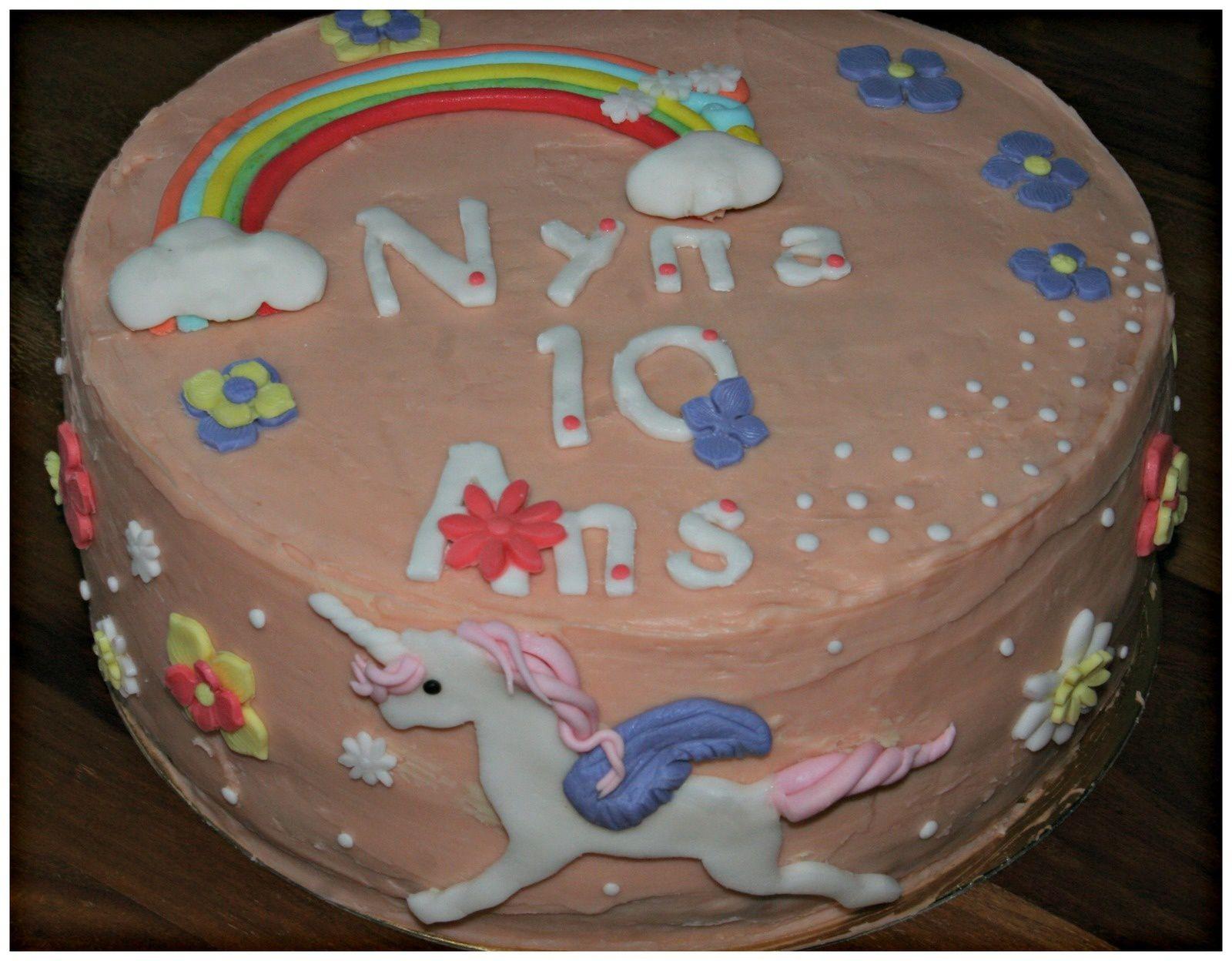 Gâteau Licorne Tome 2