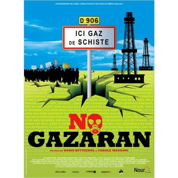 Projections de No Gazaran à Saint-Antonin-Noble-Val le 12, 13 et 14 avril