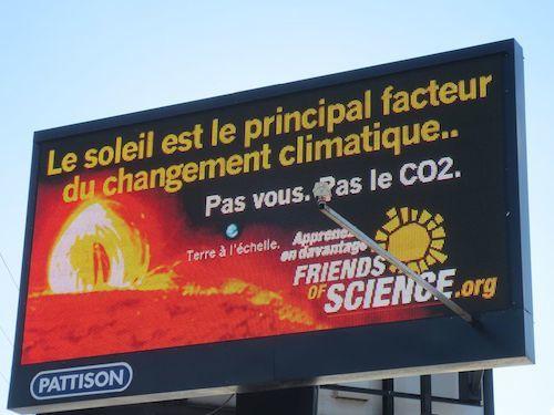 Usurpation scientifique au Québec