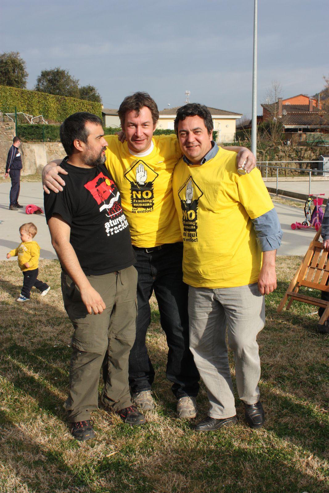 Carlos, à droite, avec Nicolas.