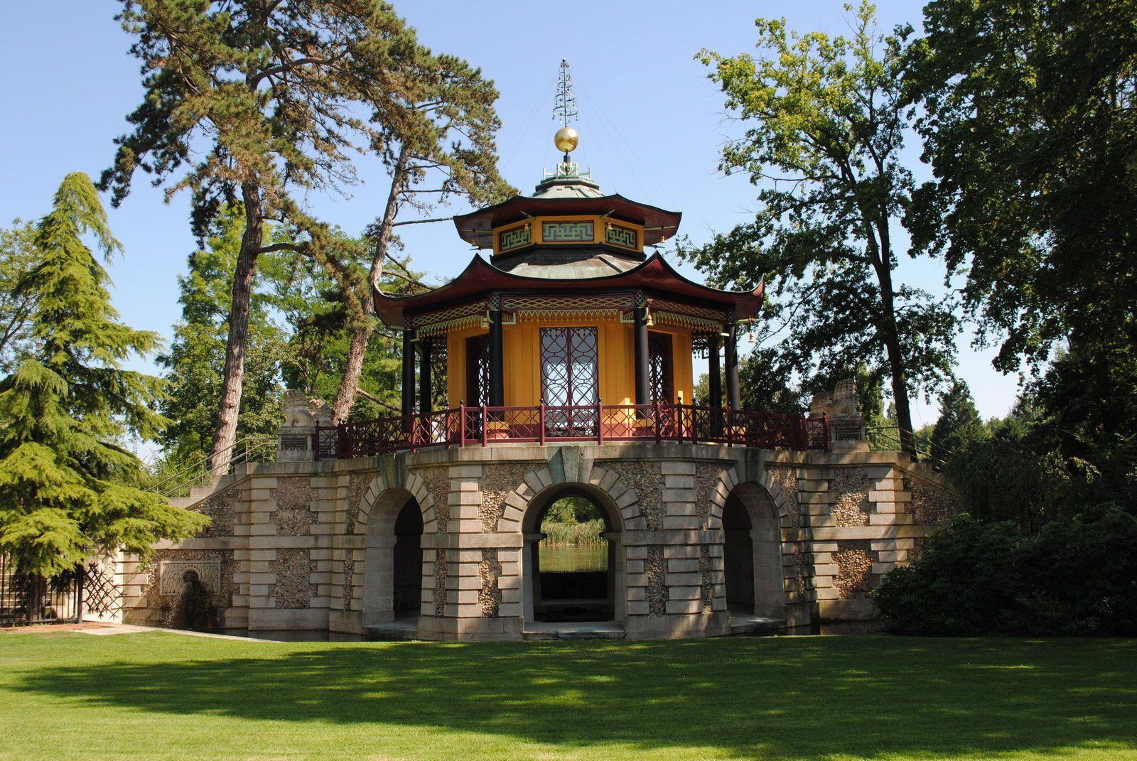 {Val d'Oise} Le Pavillon Chinois de l'Isle Adam
