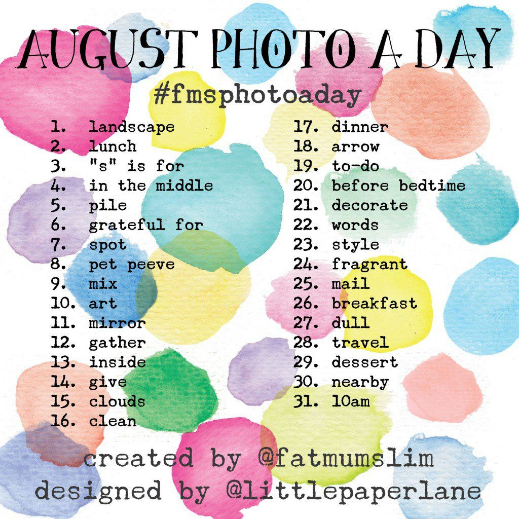 Photo a day / August 2014