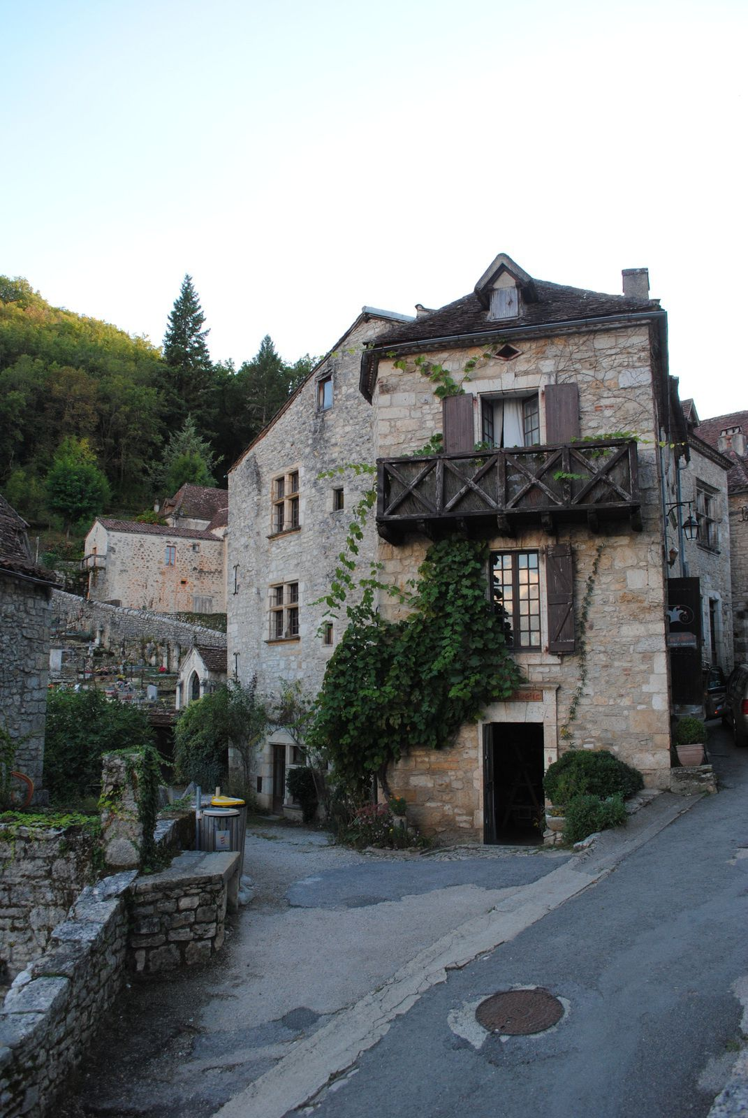 {Lot} Saint Cirq Lapopie