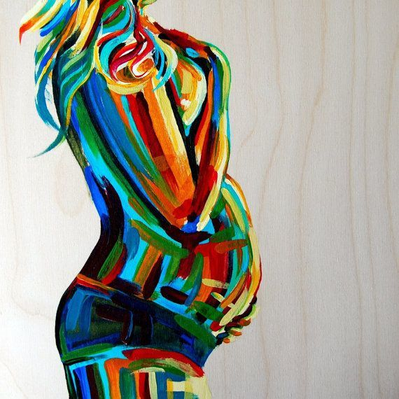 https://www.etsy.com/listing/110180955/pregnancy-painting-maternity-art-gift