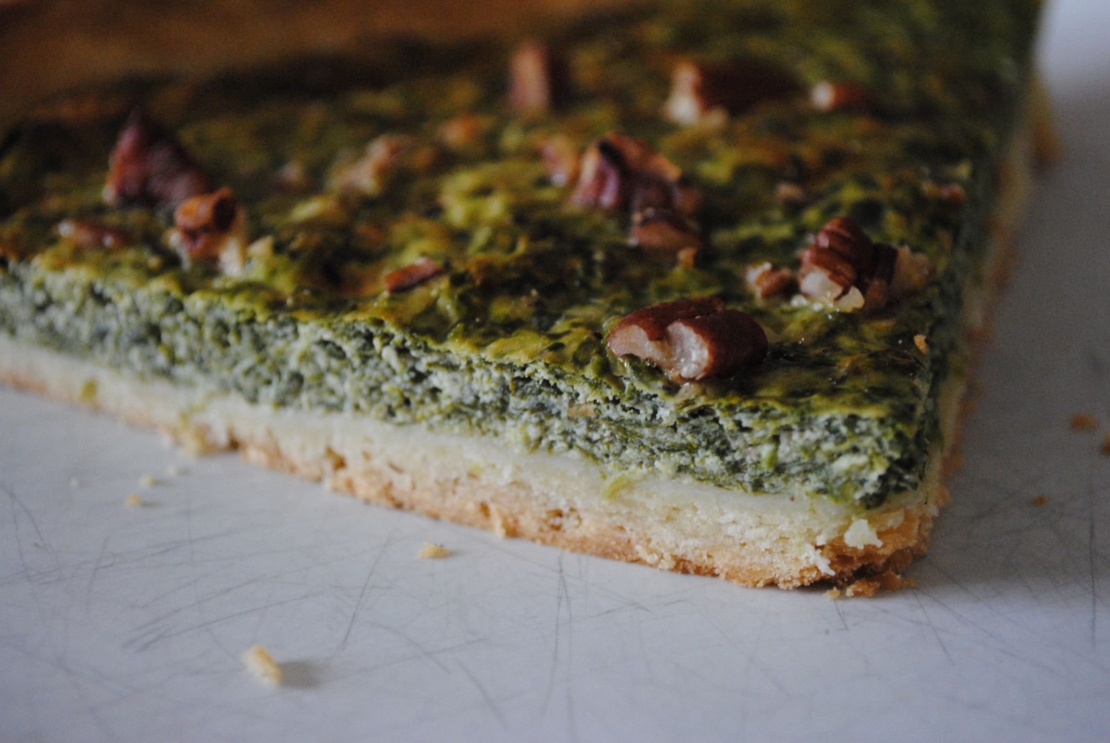 {Cuisine} Tarte épinards, ricotta et noix