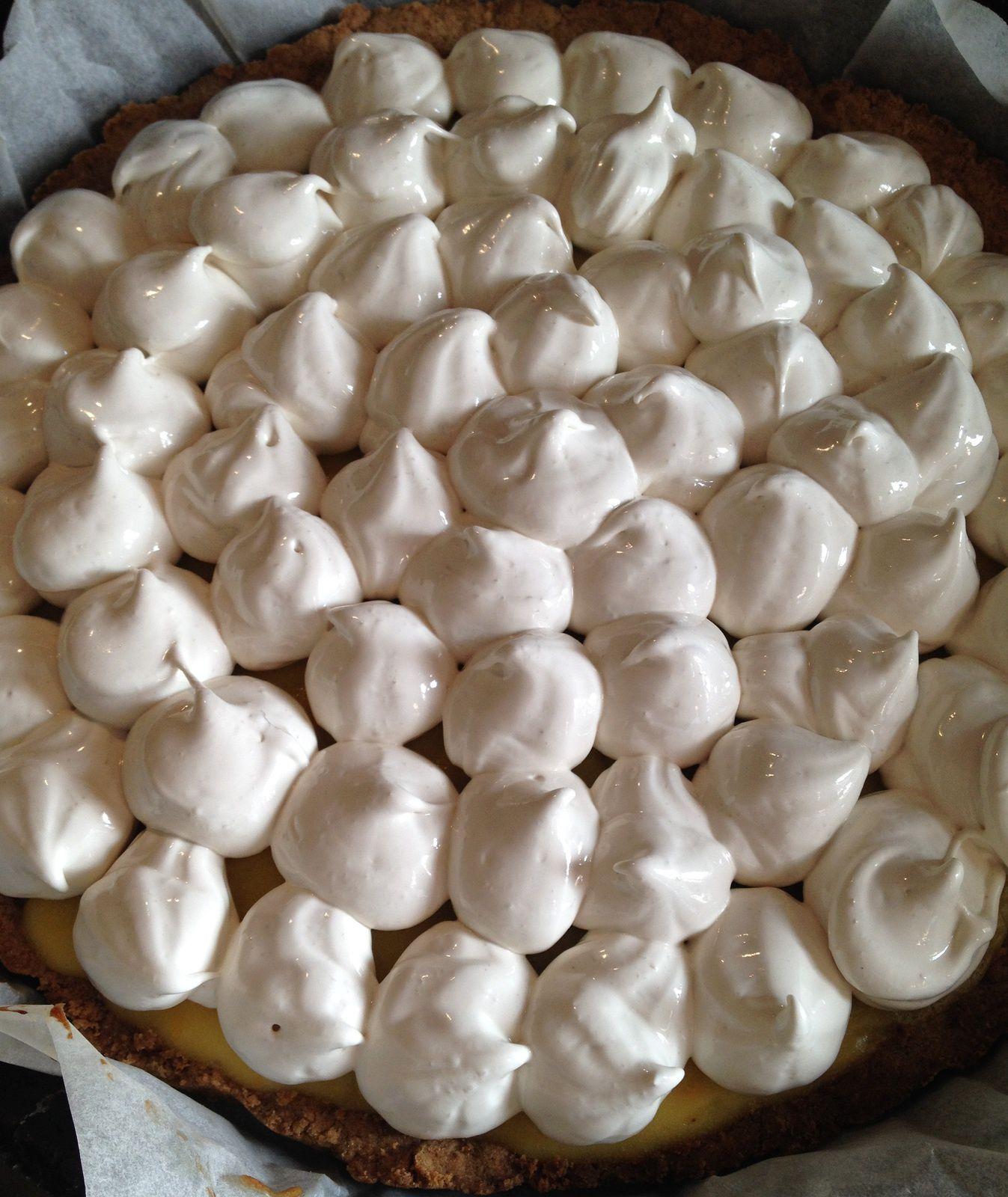 {Cuisine} Tarte au citron et sa meringue