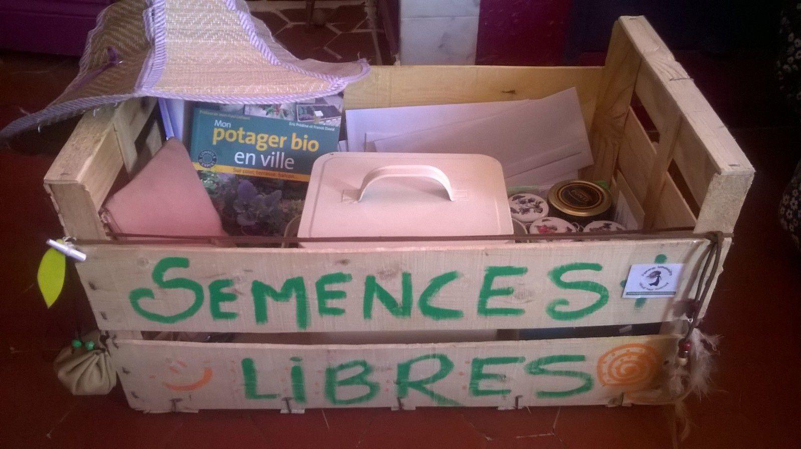 La boîte à semences libres de Laurence