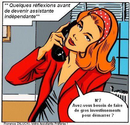 REFLEXIONS AVANT DE DEVENIR ASSISTANTE INDEPENDANTE N°7
