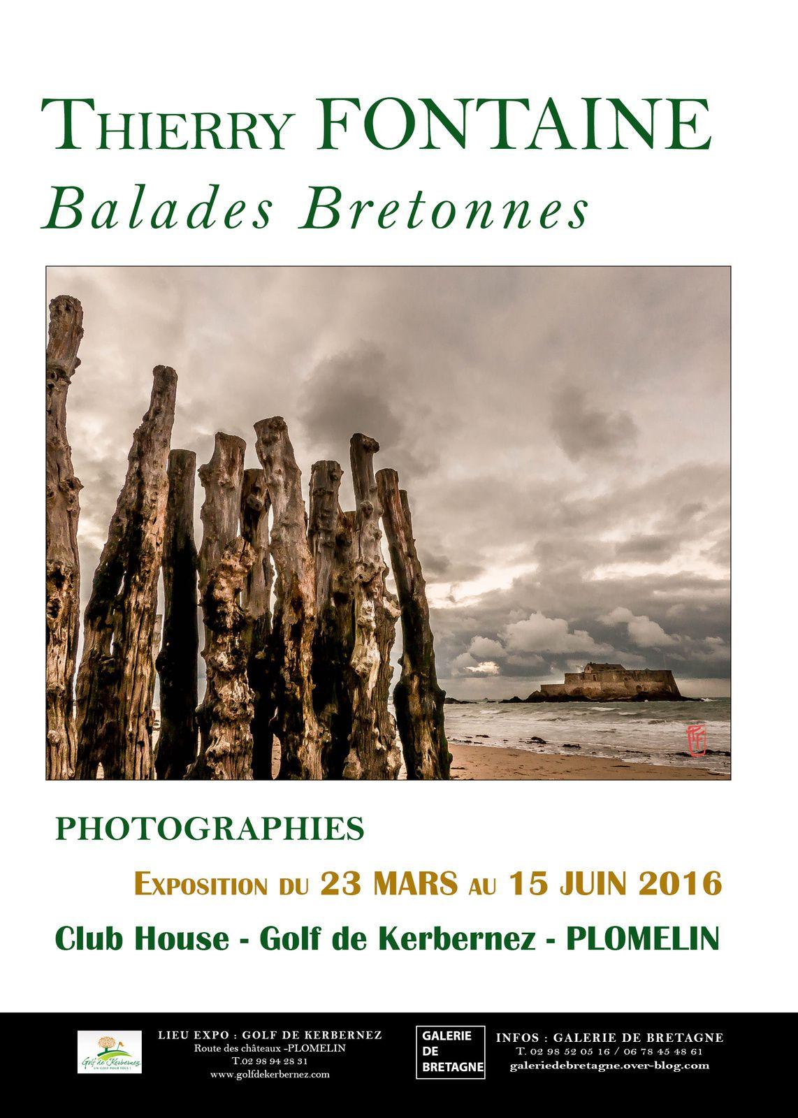 Balades Bretonnes de Thierry Fontaine