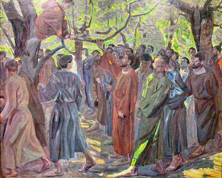 Rencontre de jesus avec pierre