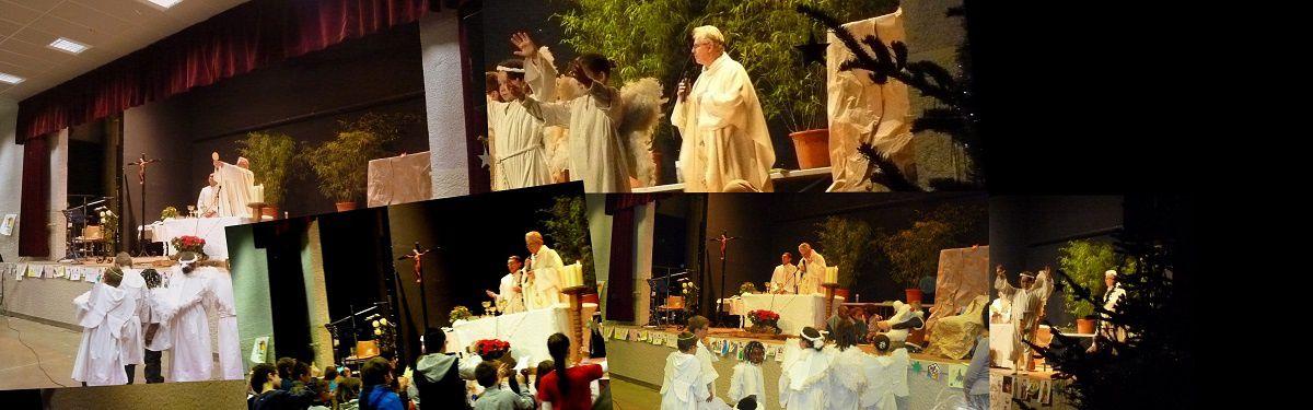 album photo &#x3B; déroulement de messe (feuille de messe)