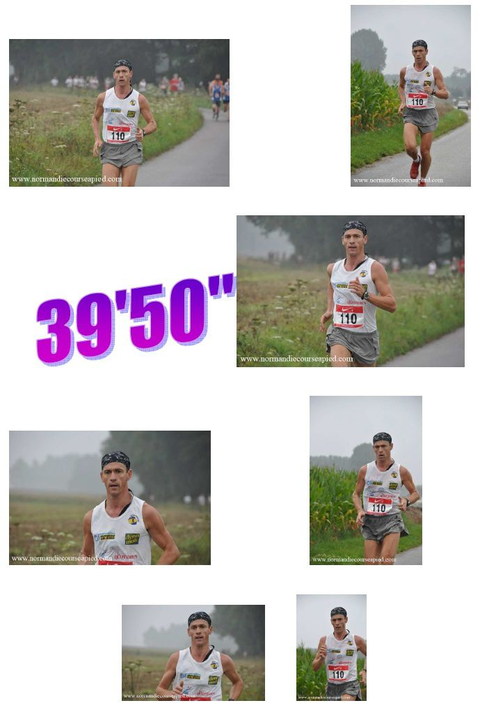 10 km DE BIVILLE LA BAIGNARDE 2010