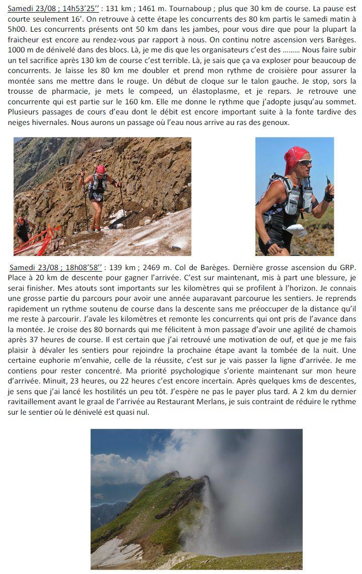 Reportage Grand Raid des Pyrénées 2013