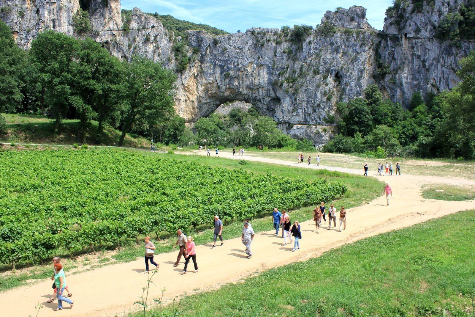2017 06 09 - Visite de la Grotte Chauvet - du Pont d'Arc et du Musée de la Lavande de St Remèze