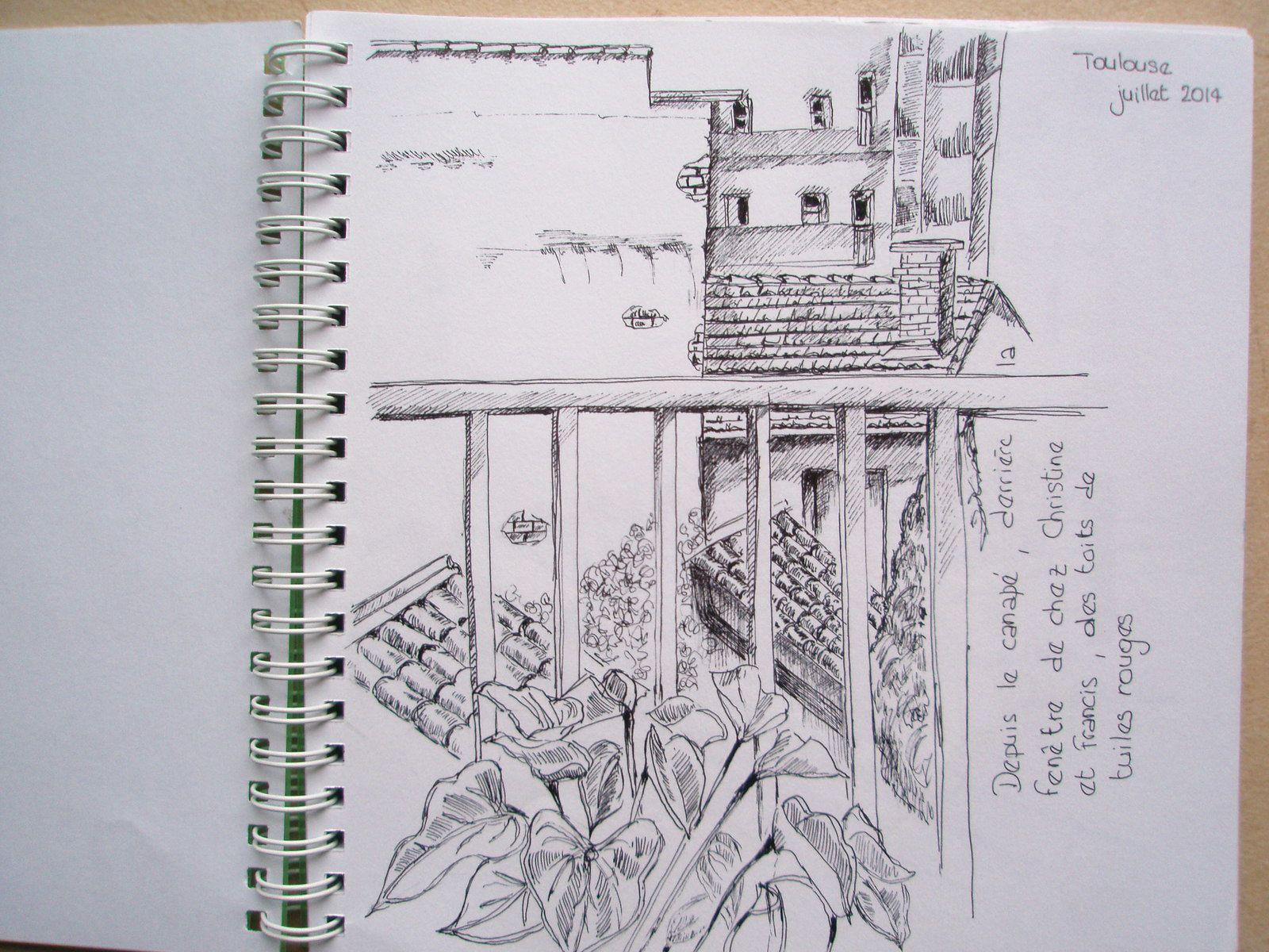 dessin au stylo, 18x18